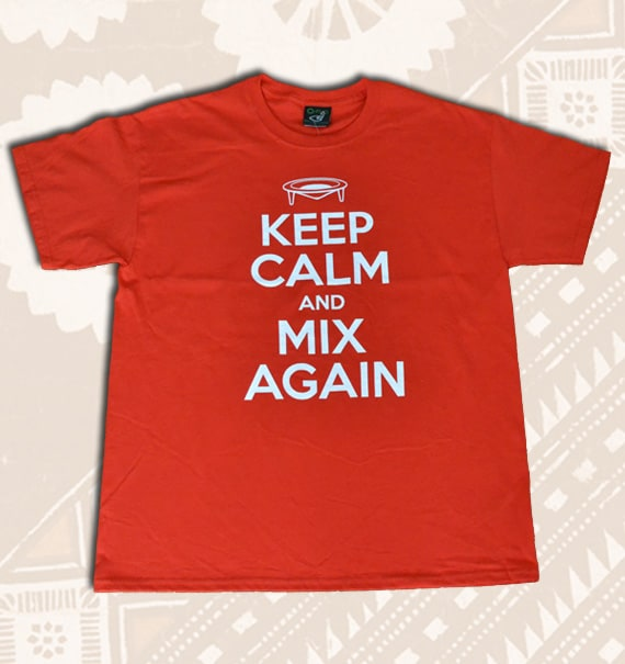 Keep Calm and Mix Again
